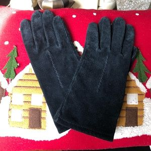 Accessories - Suede Leather Gloves Lg
